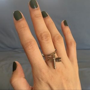 Dragonfly ornament ring